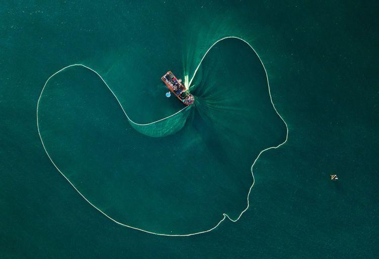 Sea fishing,