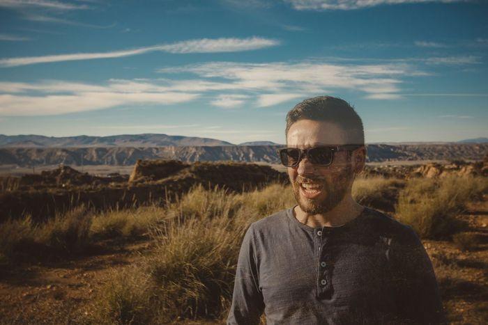 Photobomb Portrait Of A Friend Photobomb Model EyeEm Best Shots - People + Portrait Desert Transparent Man Color Portrait Eye4photography  SPAIN