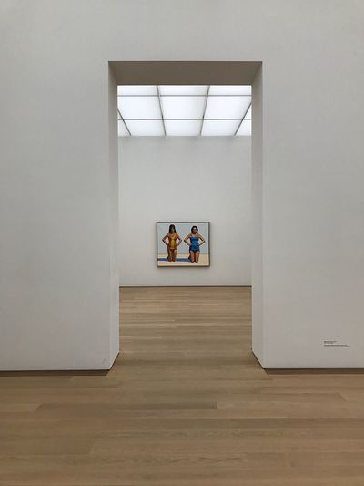 Wayne Thiebaud at Museum Voorlinde Central Perspective Wayne Thiebaud Summertime Wassenaar Museum Voorlinden EyeEm Selects Women Adult Group Of People Indoors  Architecture Togetherness Friendship Full Length People Wall - Building Feature Lifestyles Young Women Day Sitting