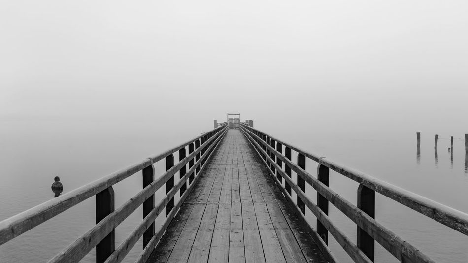 Ammersee Bavaria Day Fog Nature No People Outdoors Piercings Tranquility Water