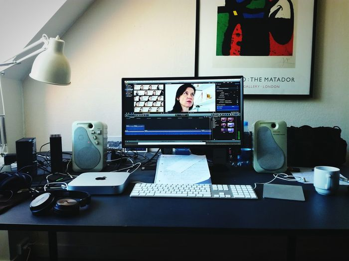 Editing Documentary Making Movies Check This Out Denmark Editing Working Work In Progress Workingplace FinalCutPro Vesterbro, Denmark