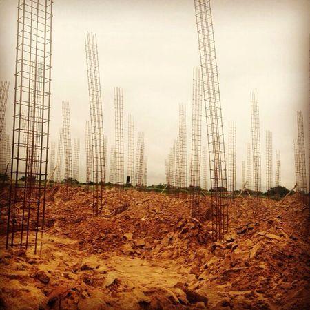 Bosque de aceros Acero Arquitectura Civil Columnas Bosques Construcción Armaduras