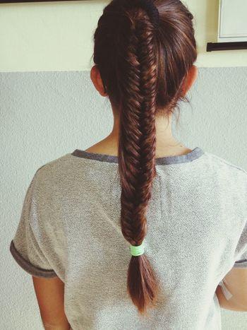 Hair Braid Fishtail Braid Girl
