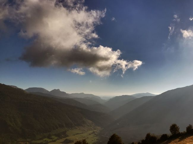 Mountain Sky Scenics - Nature Cloud - Sky Beauty In Nature Mountain Range Tranquil Scene Landscape Nature No People