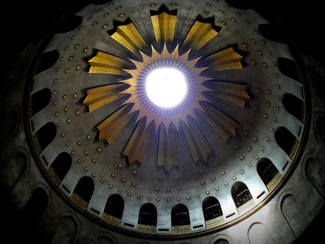 Church Of The Holy Sepulshre Jerusalem Israel