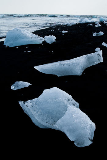 #iceberg #iceland #melting Beauty In Nature Close-up Cold Temperature Day Frozen Ice Lake Landscape Nature No People Outdoors Water Winter