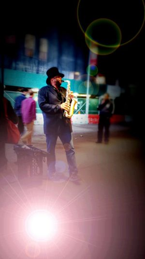 Saxophone Saxophonelife Time Square / New York Check This Out