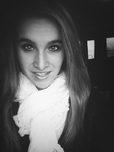 Only good thing about this weather Scarves Sweater Weather Black & White