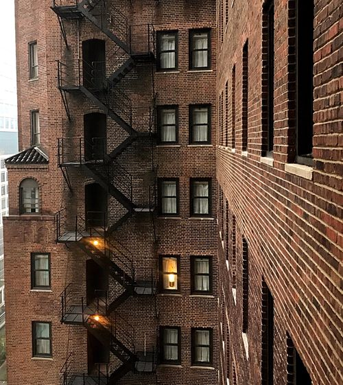 Rear Window The Architect - 2018 EyeEm Awards Architecture Building Exterior Built Structure Building Window Brick Brick Wall City No People Day Wall Pattern Residential District
