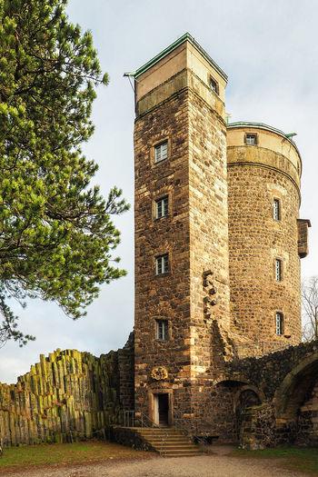 Architecture Building Exterior Built Structure Burg Castle No People Olympus OM-D E-M5 Mk.II Outdoors Stolpen Tower Travel Destinations
