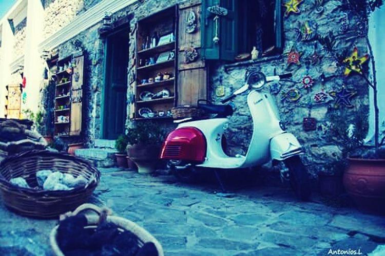 Village Olumpos in Karpathos island Greece island