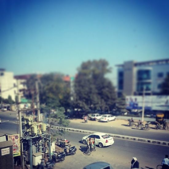 Life Moving Cars Tiltshift like patiala india instagood instapic instacool samsung galaxynote2 sunny winter