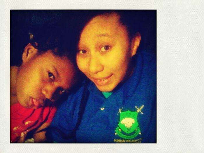Me&my Lil Cuz.