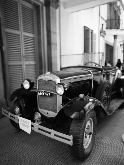 Car Old Style