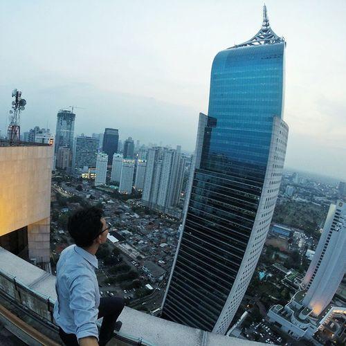 Good morning beautiful! Roofbastards Urban Exploration Rooftopping Jakarta Urbanexplorer