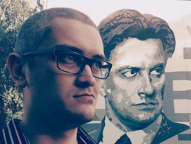 Graffiti Mayakovskiy Selfie Poet Soviet Men