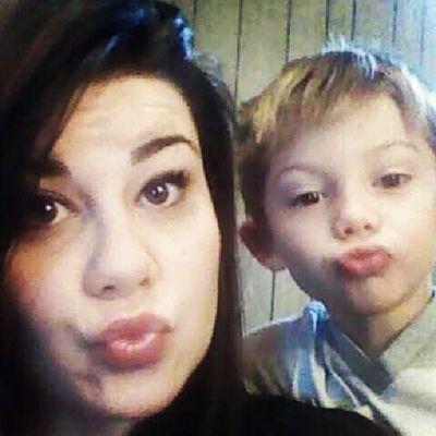 My lil boy twin <3