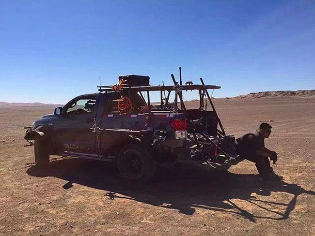 Topgear ToyotaTundra Pickup Shootingvehicle