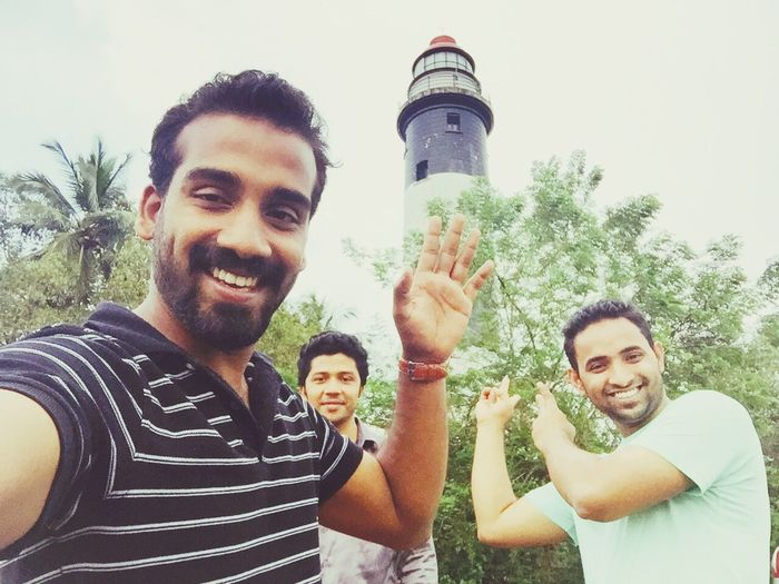 With Freinds Authentic Moments at lighthouse ...recollecting old memmories :)