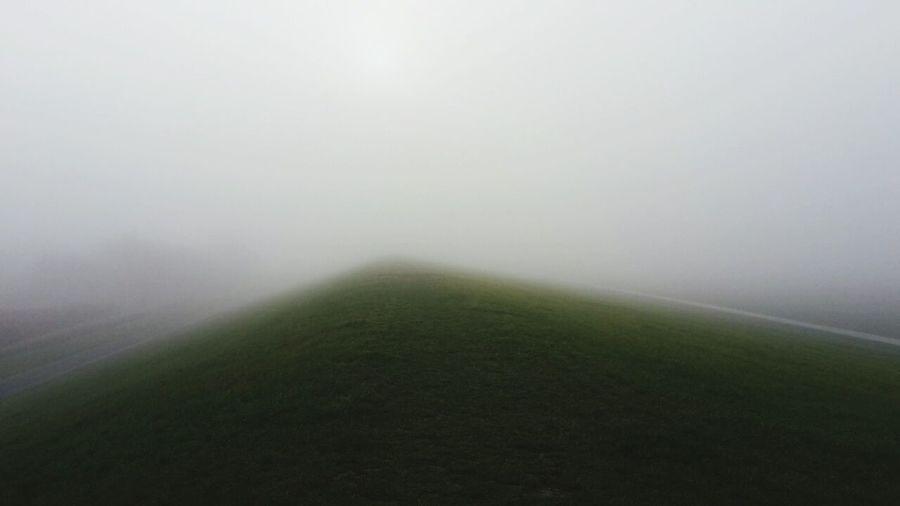 Wurster Nordseeküste Nebel Deich  Naturephotography Landscape Fog Beauty In Nature No People Melancholic Landscapes