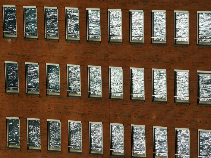 Reflections 1 Pattern Window No People In A Row Reflections And Shadows Urban Geometry Architectural Detail Façade Architecture Details Hamburg Hafencity Reflection Perfection  Reflection Photography Reflections In Windows Adapted To The City The City Light The Secret Spaces Art Is Everywhere The Architect - 2017 EyeEm Awards BYOPaper! The Week On EyeEm The Graphic City The Architect - 2018 EyeEm Awards 2018 In One Photograph