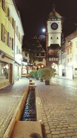 Freiburg Im Breisgau GERMANY🇩🇪DEUTSCHERLAND@ Germania Breisgau Night City Illuminated Architecture No People