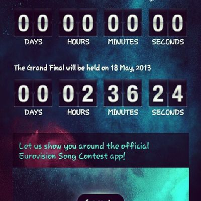 Can't wait! :3 Eurovision2013 Malm ö Countdown Instahappy excited woohoo picoftheday