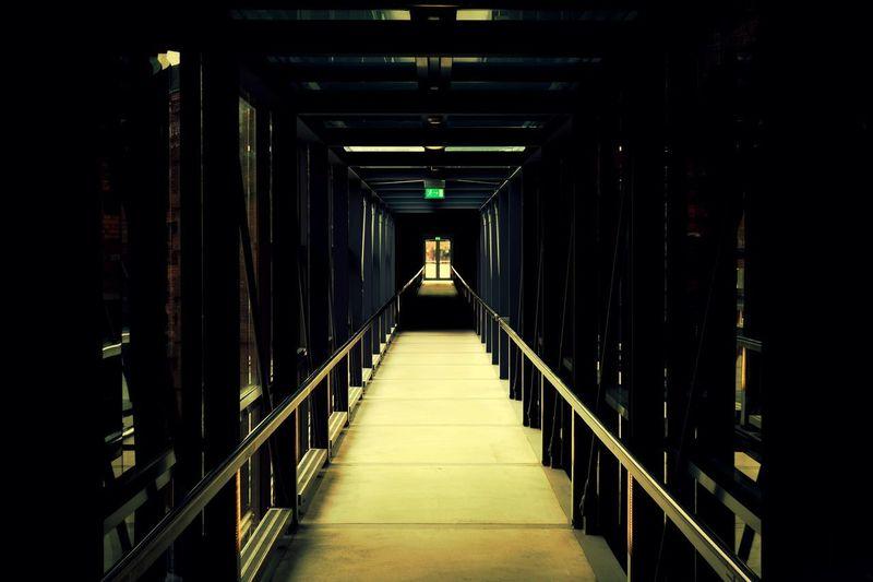 Interior Of Elevated Walkway