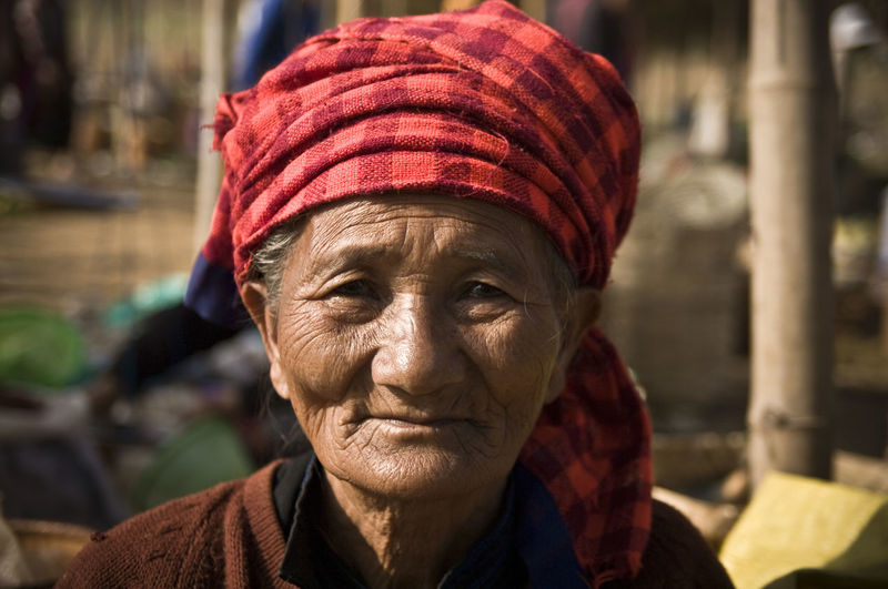 Check This Out! Check This Out EyEmNewHere EyeEm Best Shots Hello World Portrait Of A Woman The Portraitist - 2017 EyeEm Awards Travel Photography Burma Close-up Day Focus On Foreground Headshot Human Face Looking At Camera Myanmar One Person Outdoors People Portrait Real People Senior Adult Senior Women Women Wrinkled