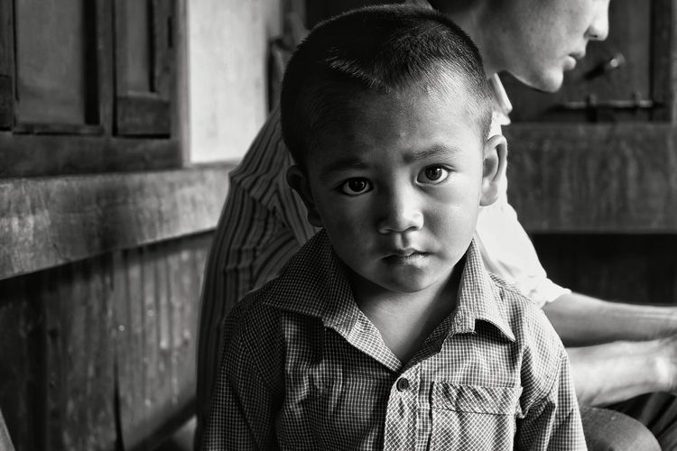 Portrait Portraiture Blackandwhite B&w B&W Portrait B&w Photography Kids Child Photography Child Tonal Contrast Skin Skintone Natural Tones Natural Northeast Southasia India Innocent Innocence Innocenceofachild Face Of Innocence Faces People People Photography Black And White Friday
