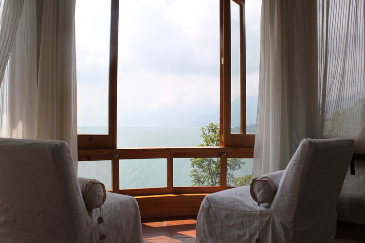Atitlan Lake B'alam Ya Guatemala Honeymoon Suite Lake Atitlan Guatemala Lakefront Lakefront Living Bay Windows Honeymoon Lake Atitlán Room With A View Waterfront