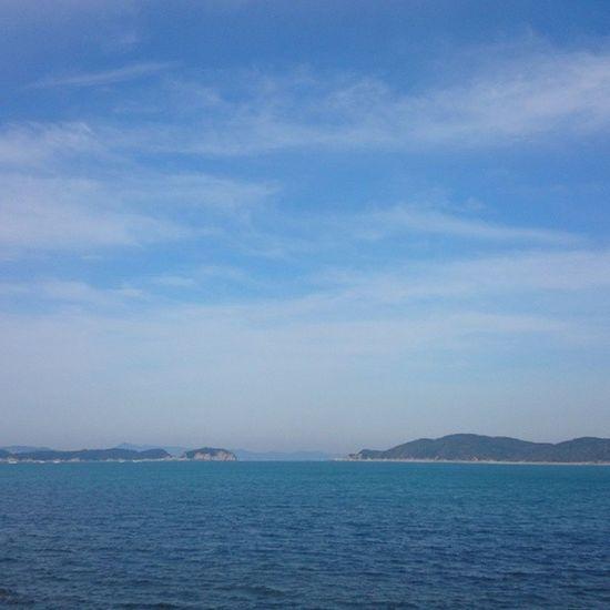 どこ行くあて無く、1人たどり着きしは、加太♪  海  イマソラ BGM はdivetoblue
