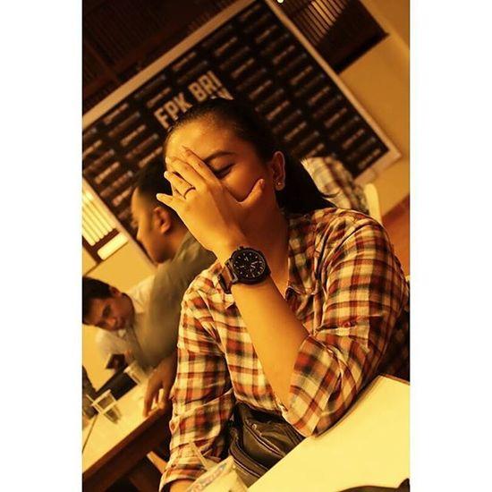 Eaaaaa 😀😀😀 Stres Habis Show Dipanggung Dan Saya Ketawa Hahaha Wkwkwk Fpk Pangandaran Bankbri BankRakyatIndonesia