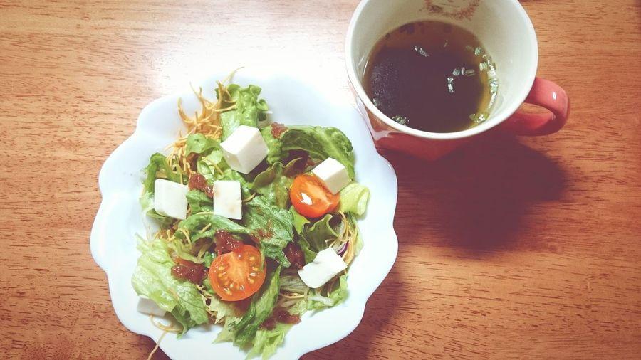 Dinner Umeboshi Tohu Wakame Soup