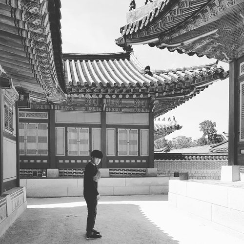 Gyeongbokgung Palace Gyeongbokgung Palace, Seoul Joseon Dynasty Five Centuries 1392 -1897 Palace Architecture Seoul Architecture My Son Tripwithsonmay2017 Tripwithson2017 Seoul Southkorea