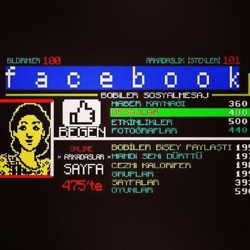 Facebook Teletex versiyonu