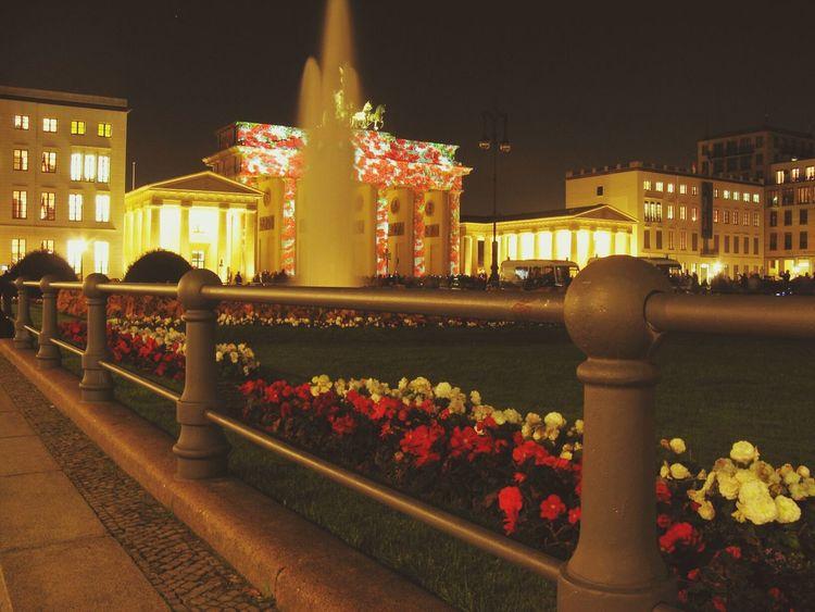 Festival of lights. Night Lights Berliner Lichter Night Festivaloflights