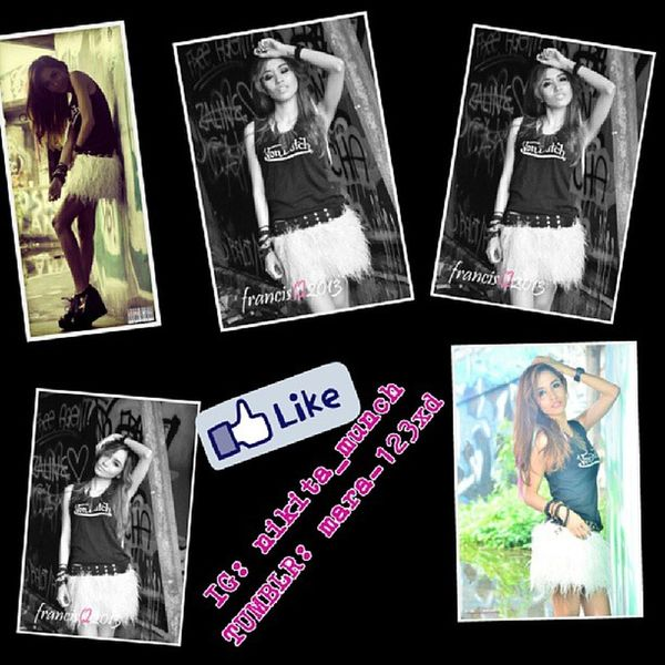 Photoshoot Photography Tumblr Vondutch fashionblogger skirt furr hairstyle model igbicol swag shoesporn wedge selfie skinny iphoneasia love streetfashion stylish trend girlfashion ghetto nikon antm fierce emotions tumblr
