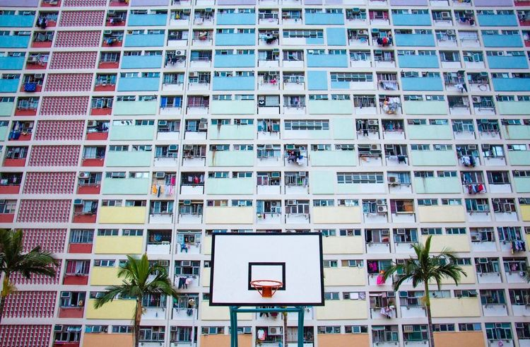 Architecture Building Exterior Window Built Structure No People City Outdoors Day Residential Building HongKong Public House