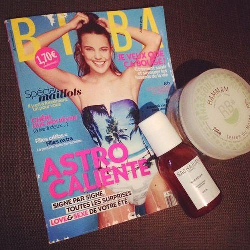 Un bon bain Lush avec des masques visage et cheveux + le nouveau BIBA = perfect samedi soir ! Saturday Bath Relax Chilling Détente Evening Magazine Beauty Masque Hammam Sachajuan