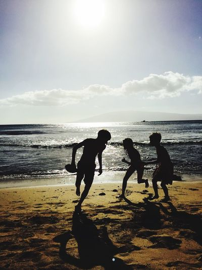 Young, Dumb, and Full of Fun ✨ Enjoying The Sun Being A Beach Bum Ocean Hawaii Hello World Light And Shadow Clouds And Sky Hanging Out Holiday