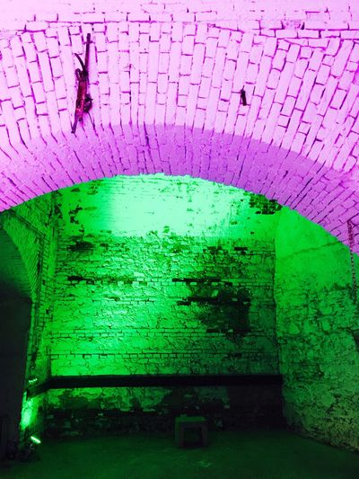 No People Brick Wall Built Structure Indoors  Close-up Architecture Green Color Multi Colored Architecture Wienerneustadt Austria Tranquil Scene Shadow Indoors  Landscape