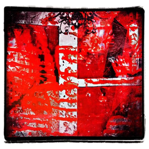 redrum in florida Fine Art Photography. The Murders In Florida Red Full Frame Transfer Print Close-up Backgrounds Auto Post Production Filter Communication Textured  Dirty Messy