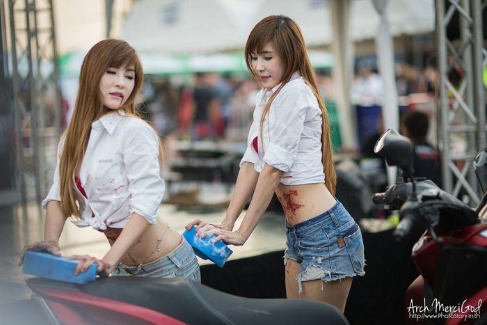 Run For Your Lifes Thailand http://www.photostory.in.th http://fb.me/ArchMerciGod Beautiful Girl Rfylth Modelgirl RFYLasia Sexygirl Portrait Candid RFYL Model Pose Cute