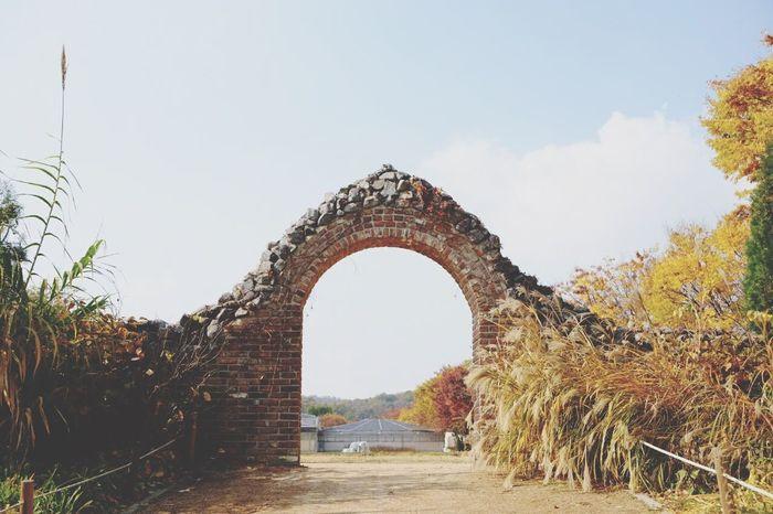 인천대공원 Arch Day Built Structure History Travel Destinations No People Outdoors Architecture Sky Tree Nature