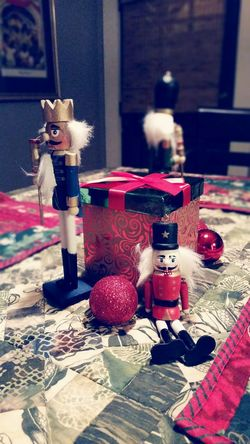 My part of the Christmas decorations in the house. Enjoy. Christmas Decorations Nutcrackers Gay Taking Photos Open Edit Holidays December
