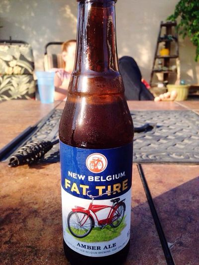 Fat Tire anyone? Beer Hotsummerday Fattire
