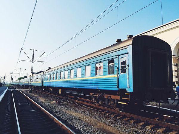 Ukrainian trains Train Station Railway Ukraine City Wagon  Travel Traveling