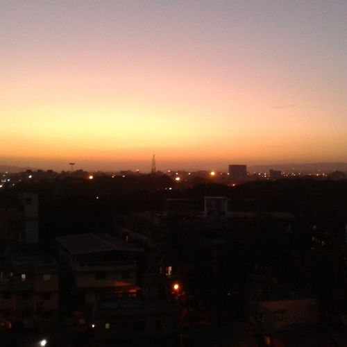 Sunset Sunset Photooftheday Panvel Navimumbai