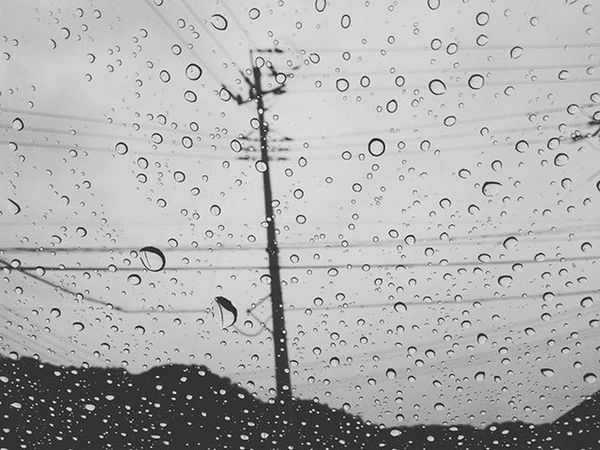 雨 イマソラ 雨粒 Rain RainyDay Morning 太陽が恋しい おはよう